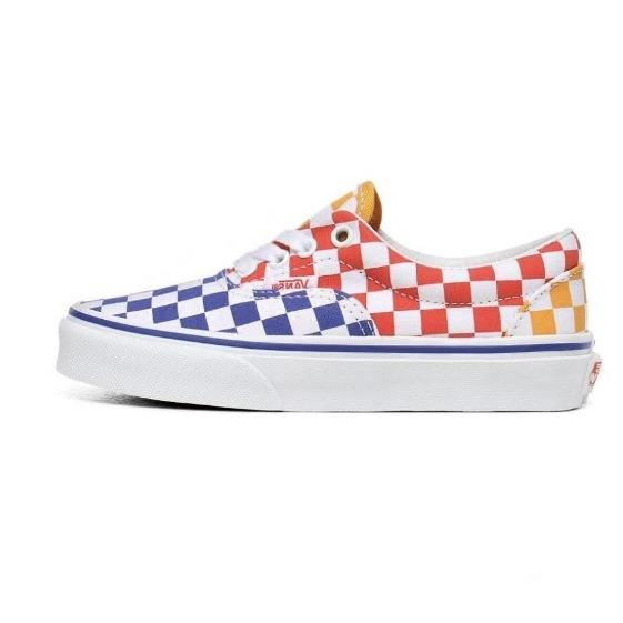 VANS Era (Tri Checkerboard) -  Multi-True White