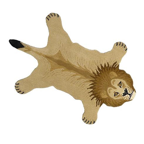 Moody Lion Rug large