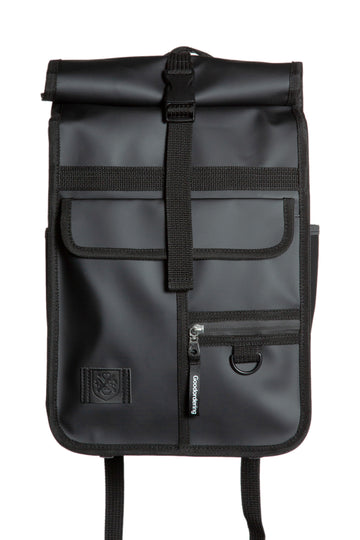 Monochrome Mini Rolltop Backpack Black