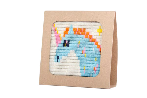Unicorn Wall Art Embroidery Kit