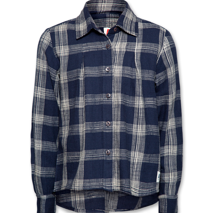 Terry Classic Shirt Navy Blue