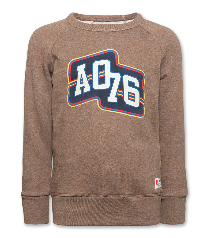 C-Neck Sweater Ao76 Heather Brown