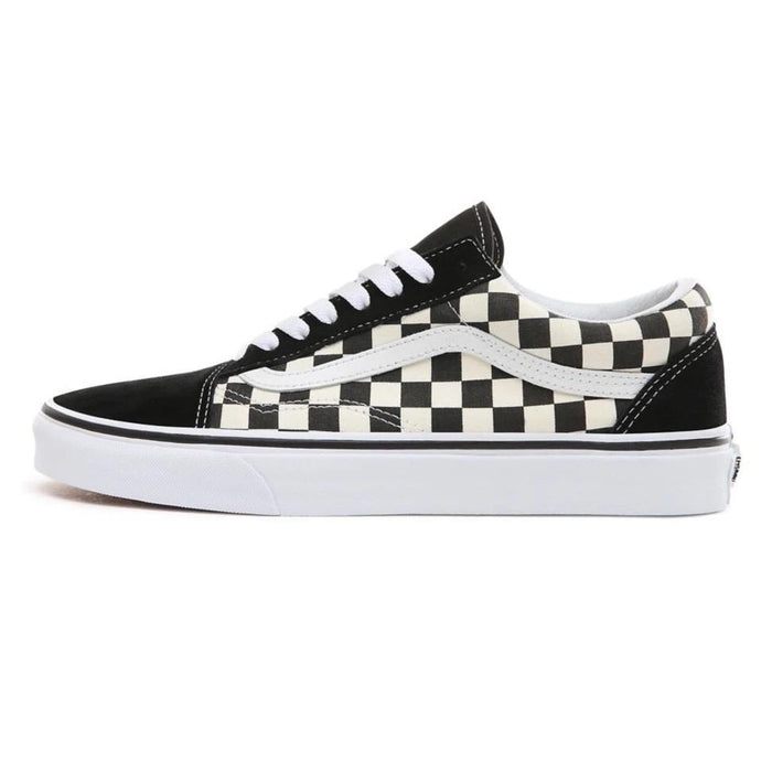 VANS Old Skool - (Primary Check) White-Black