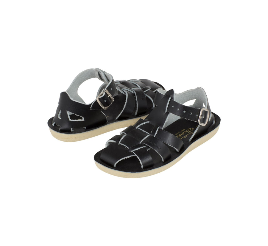 Salt Water - Sandals - Sandals Shark Black