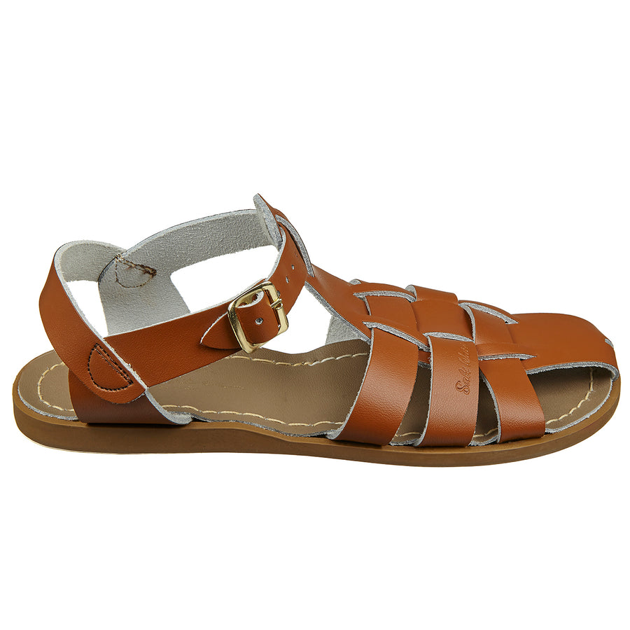 Salt Water - Sandals - Sandals Shark Original Tan