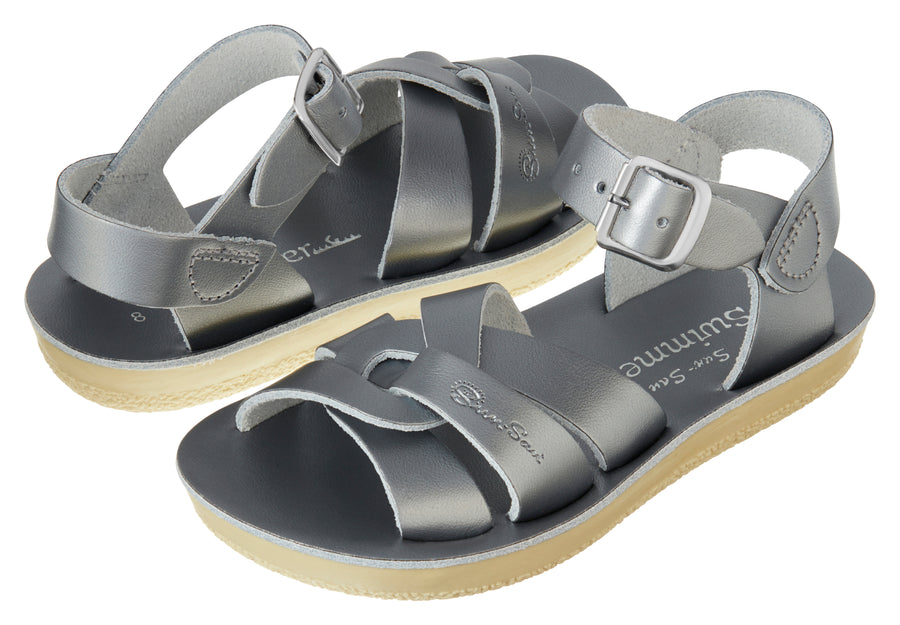 Salt Water - Sandals - Sandals Swimmer Pewter