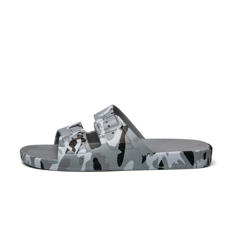 Slippers Freedom Moses Army Grey
