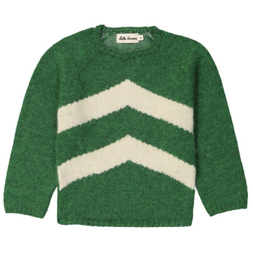 Marmotte Sweater Tolstoï Green