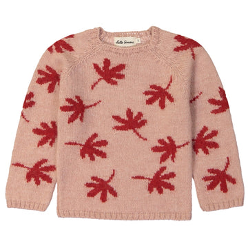 Marmotte Sweater Leaves