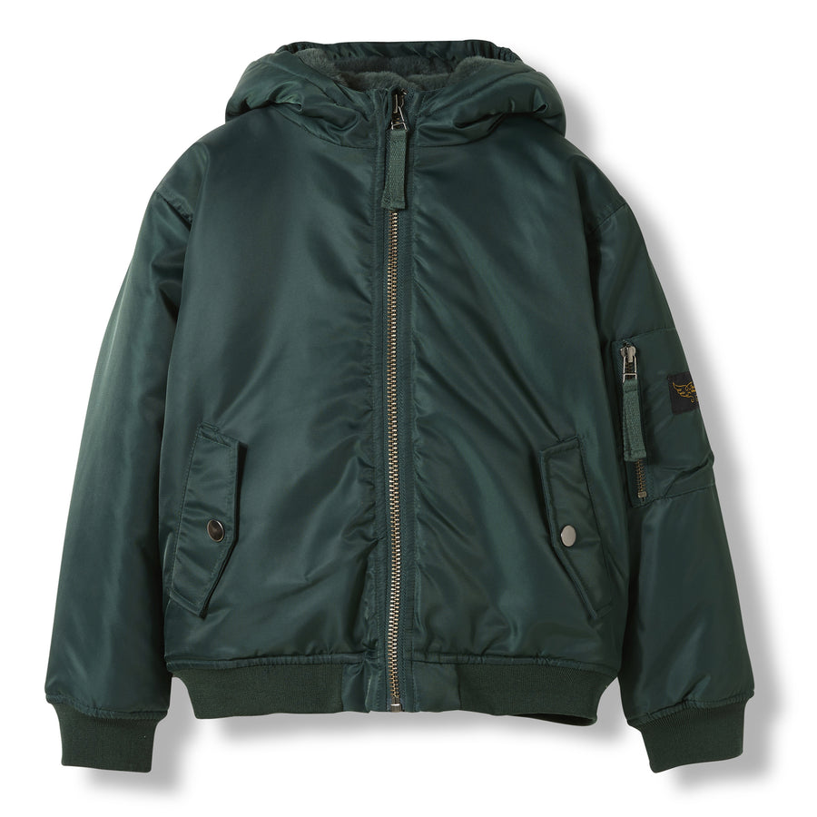 BALTIMORE College Green -  Woven Hooded Jacket