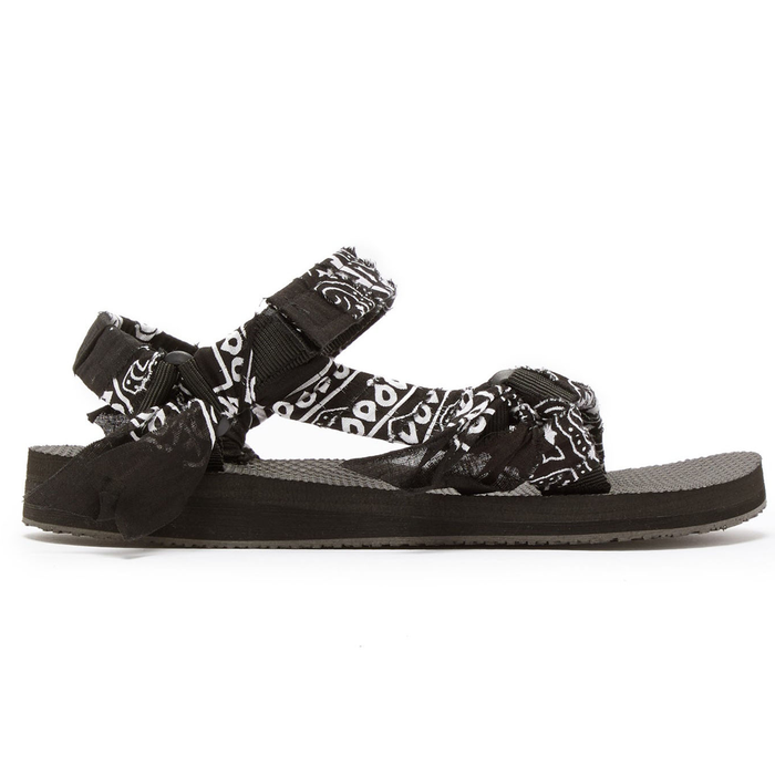 Black Kids Bandana Sandals