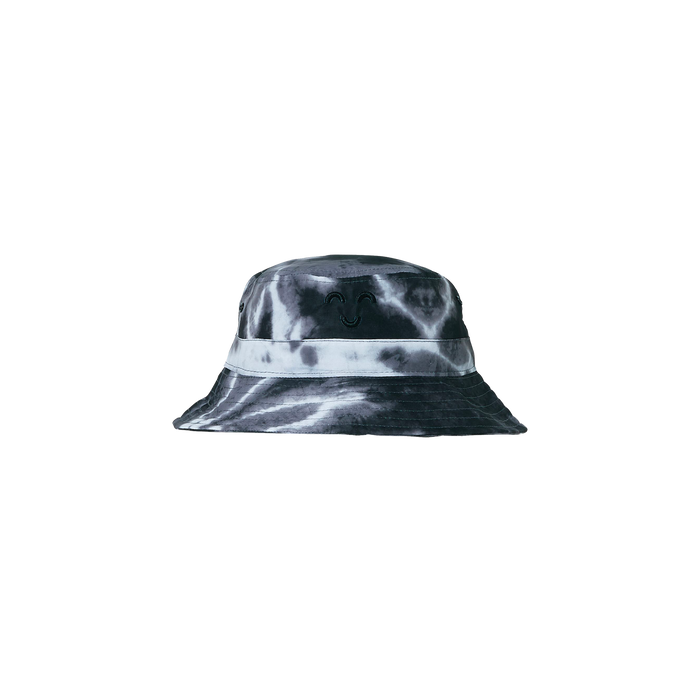 BUCK Black/White Tie & Dye - Bucket Hat