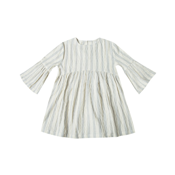 dress stripe ivory / stormy blue