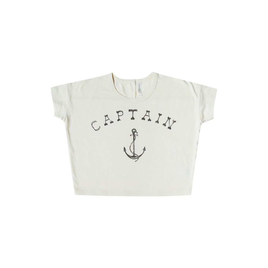 captain boxy tee