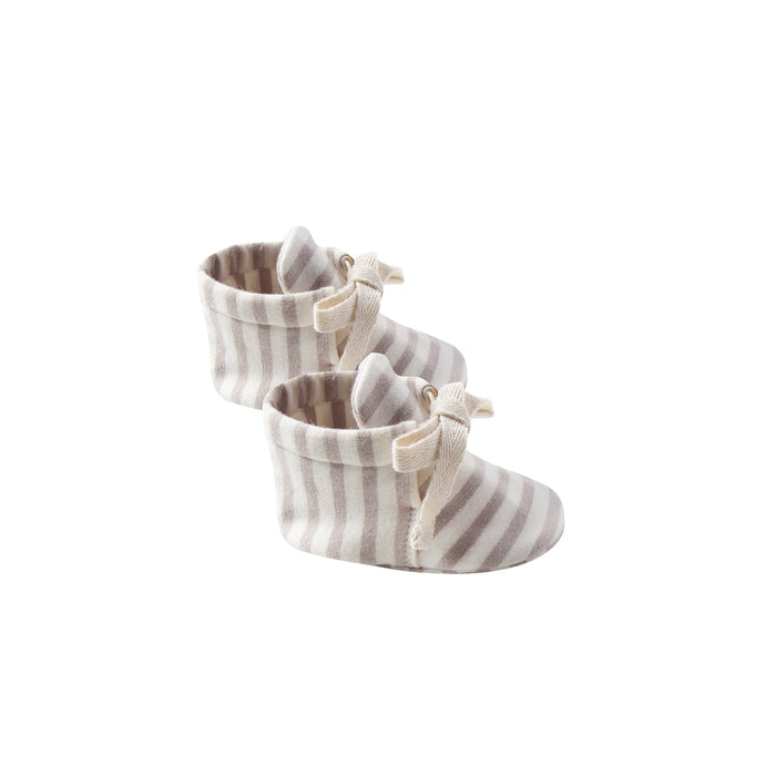 Baby Booties Fog Stripe