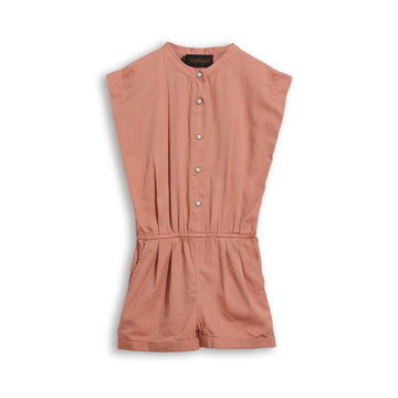 Cara Grey Pink - Short Jumpsuit