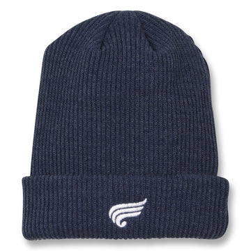 Carson Blue Denim - Unisex Knitted Beanie
