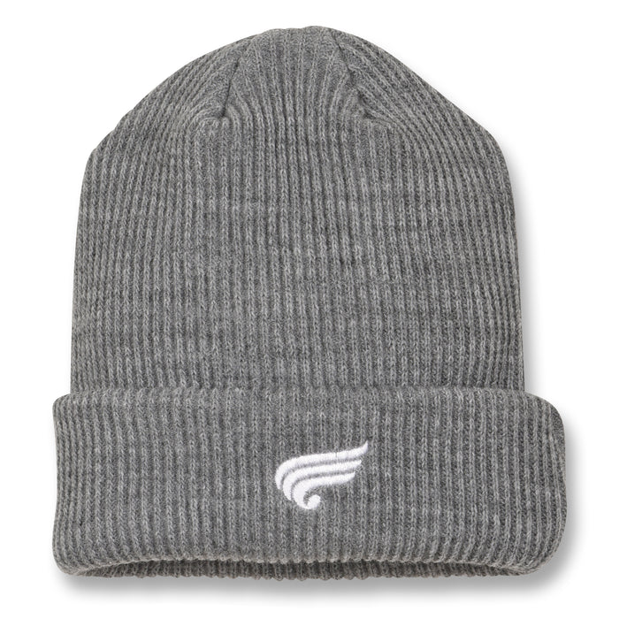 Carson Heather Grey - Unisex Knitted Beanie
