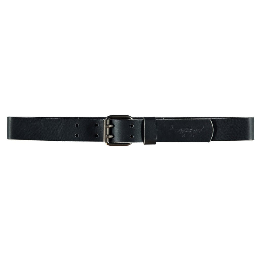 CURTIS Black - Unisex Leather Belt
