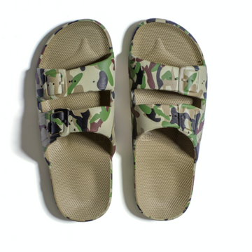 Slippers Freedom Moses Army Khaki