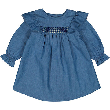Dress Alexine Chambray Blue