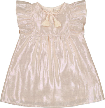 Dress Annette Lamé Light Pink