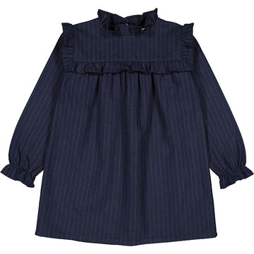 Dress Annick Flanelle Navy