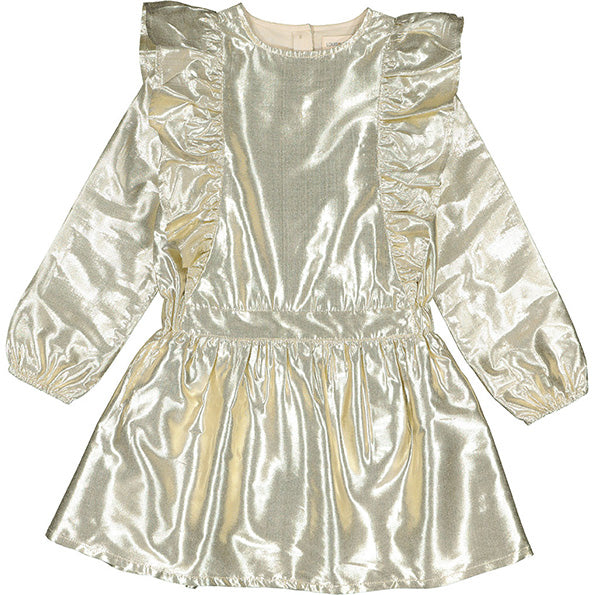 Dress Guillemette Lame Gold