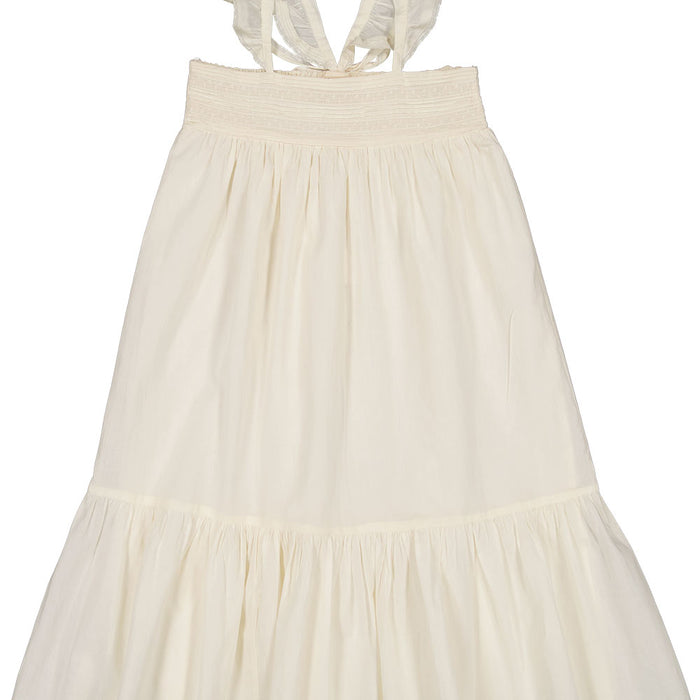 Dress Merveilleuse Cotton Veil Off White