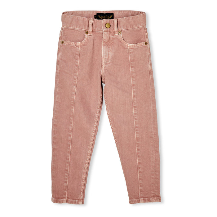 Emma Light Pink - 5 Pocket Boyfriend Fit Jean