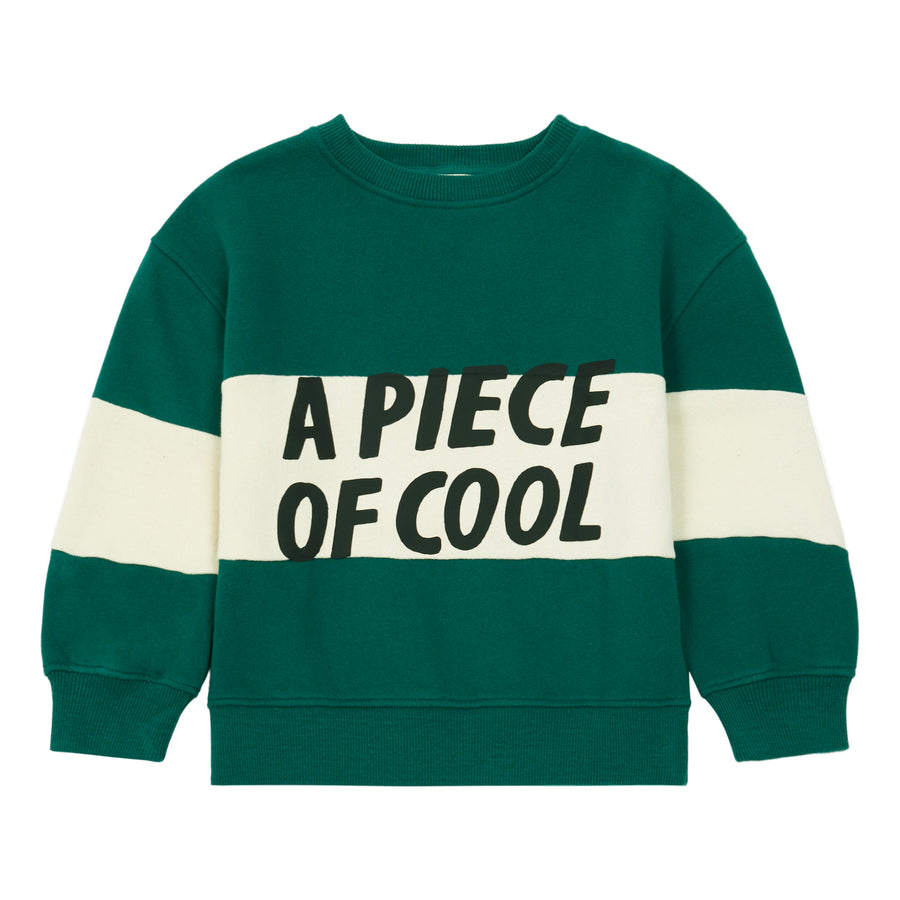 Piece Of Cool Sweatshirt Vert Sapin