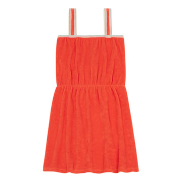Coolifornia Terry Cloth Dress Mandarine