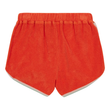 Terry Cloth Shorts Mandarine