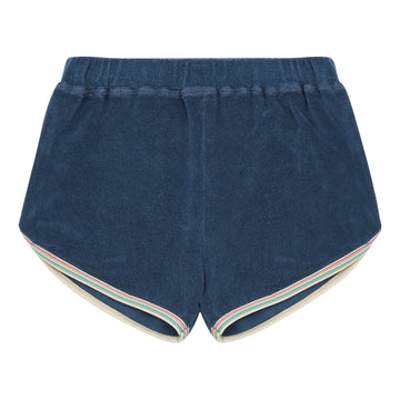 Terry Cloth Shorts Bleu Chiné