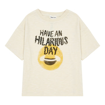 Hilarious Day Organic Cotton T-Shirt Mastic