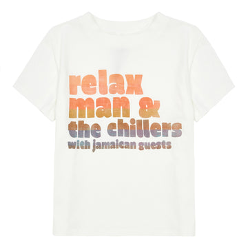 Relax Man Organic Cotton T-Shirt Ecru