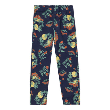 Hawaiian Loose Trousers Bleu Marine