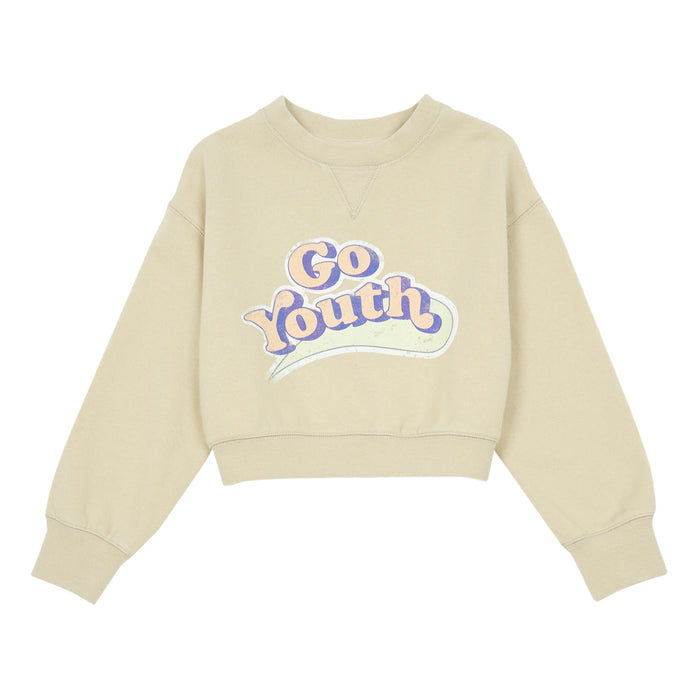 Sweat  Coton Organique Youth Chalk