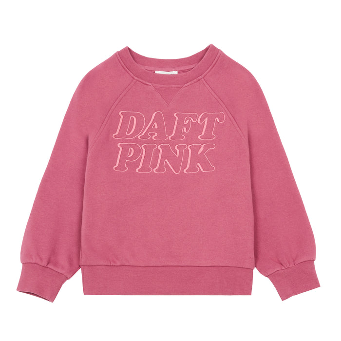 Sweat Coton Organique Daft Pink
