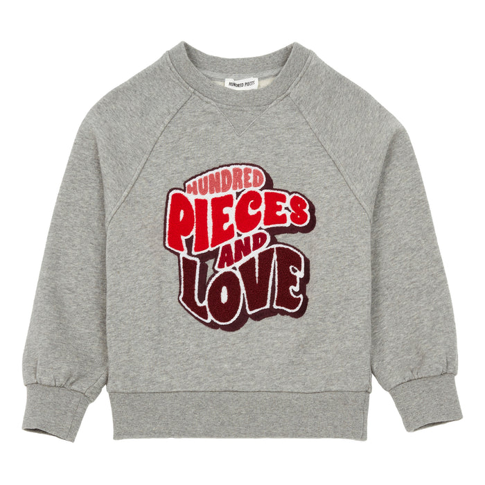 Sweat Coton Organique Pieces & Love