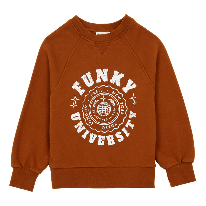 Sweat Coton Organique Funky University