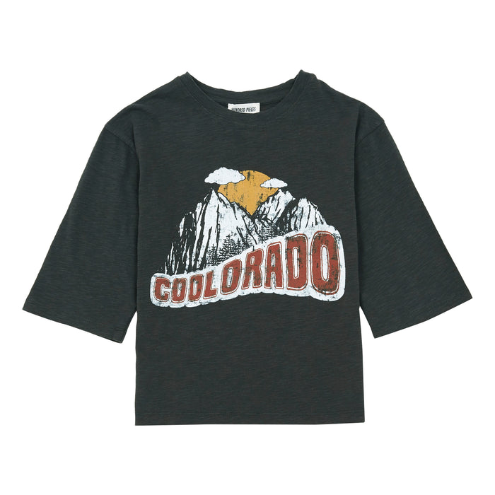 T-Shirts Coolorado Coton Organique Finn Charcoal
