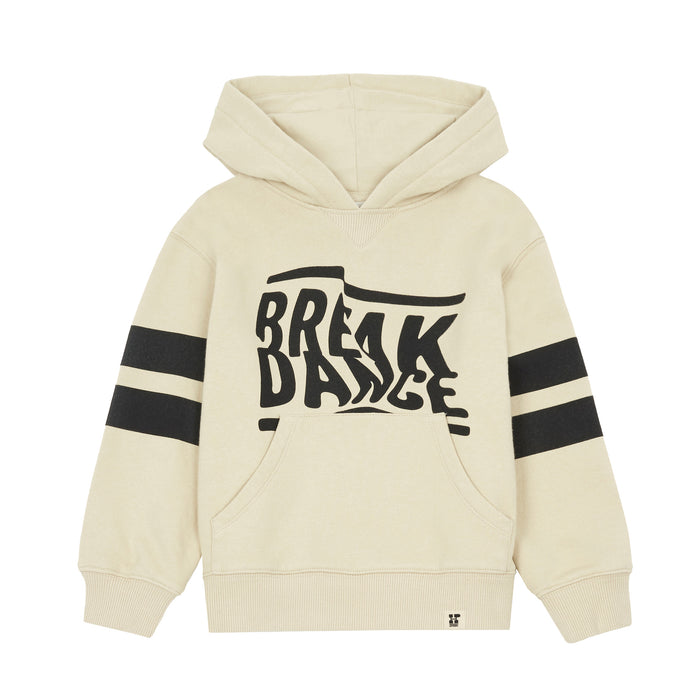 Hoodie Coton Organique Break Dance Deacon Chalk