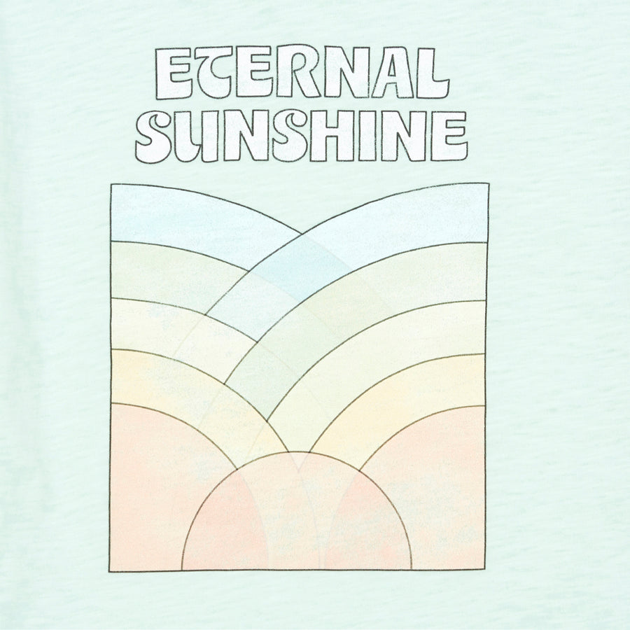 Hundred Pieces - T-shirts / Polos - T-Shirt Eternal Sunshine Coton Bio Vert Menthe