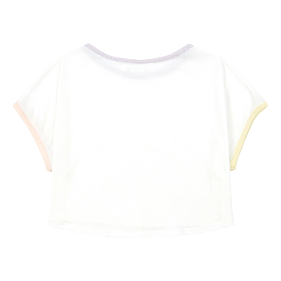 Hundred Pieces - T-shirts / Polos - T-Shirt Court Super Natural Coton Bio Blanc Cassé