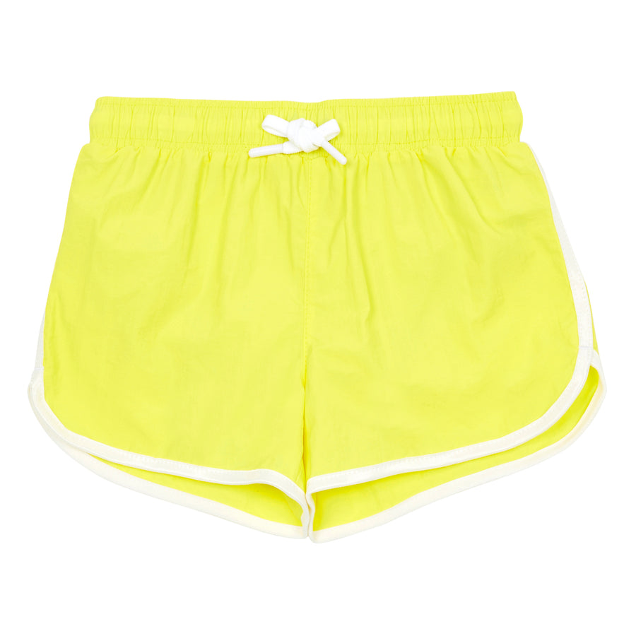 Hundred Pieces - Swimwear - Short De Bain Surf Shak Jaune