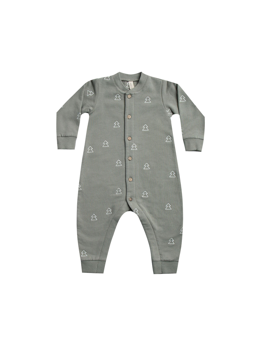 Fleece Jumpsuit Eucalyptus