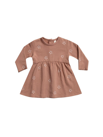 Fleece Dress Clay