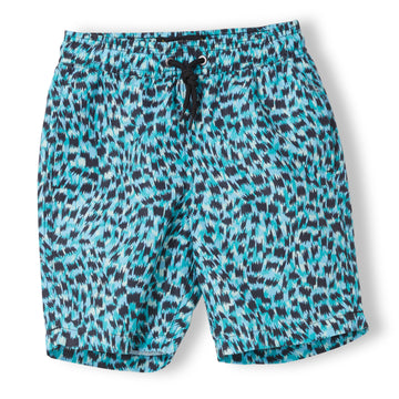 GOODBOY Sea Green Nerv - Boy Woven Surf Bermudas