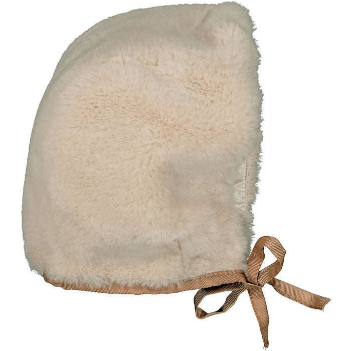 Hat Amour Fake Fur Beige
